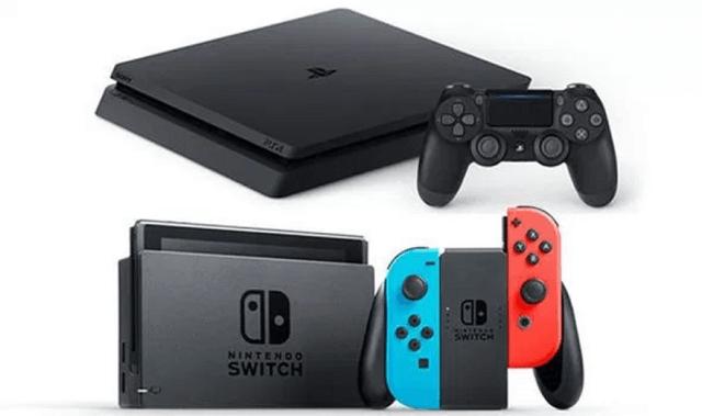 PS4とNintendo Switch